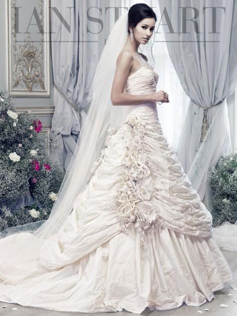 Ian stuart 2015 spring bridal collection the fashionbrides for International wedding dress designers