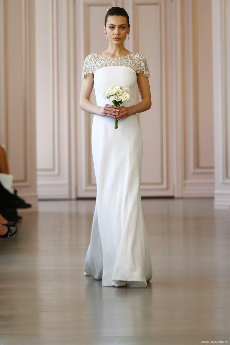 oscar de la renta 2016 spring bridal collection the fashionbrides. Black Bedroom Furniture Sets. Home Design Ideas