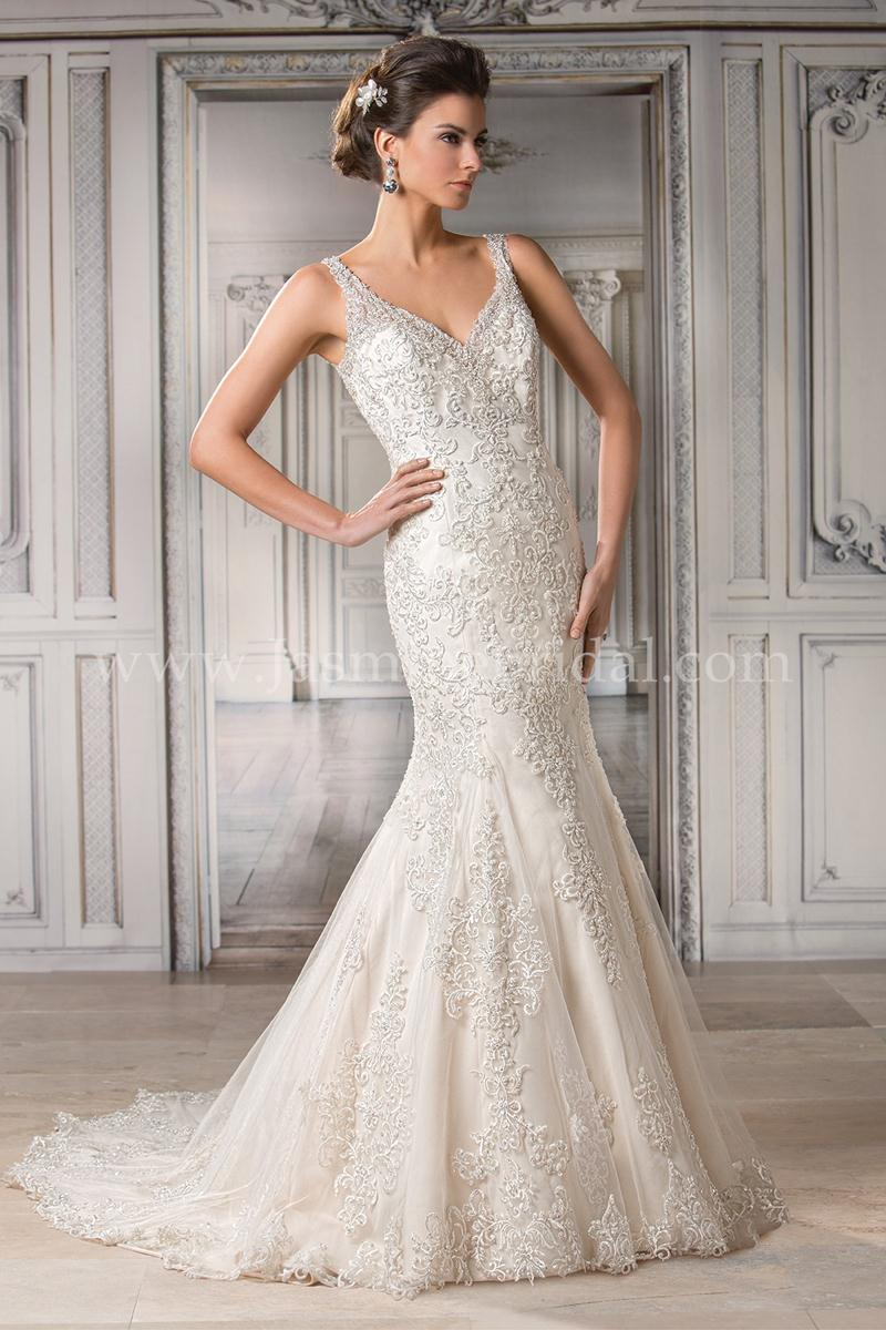 Jasmine couture 2015 fall bridal collection the for Jasmine couture wedding dresses