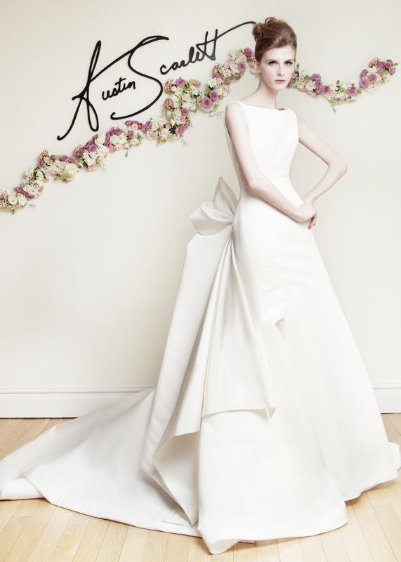 Austin Scarlett 2016 Spring Bridal Collection | The FashionBrides