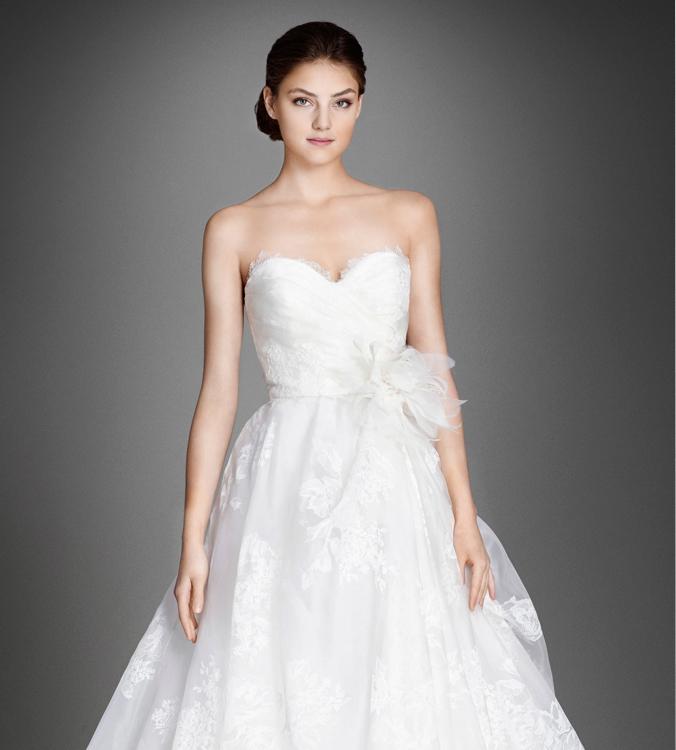 Lazaro 2016 Spring Bridal Collection   The FashionBrides
