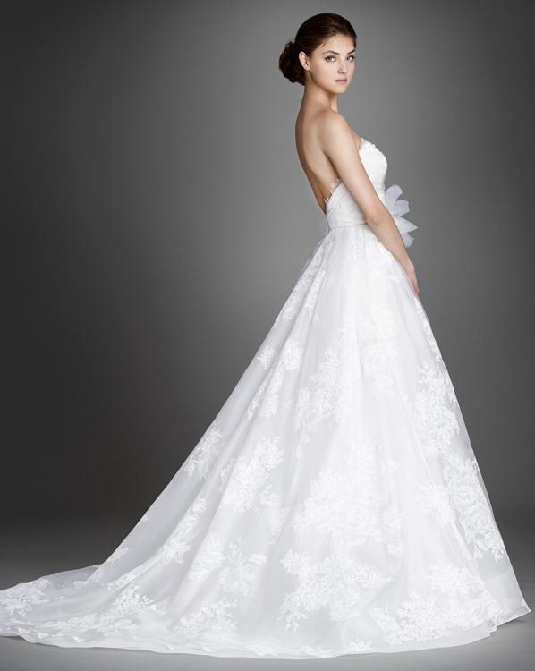 Lazaro 2016 Spring Bridal Collection | The FashionBrides