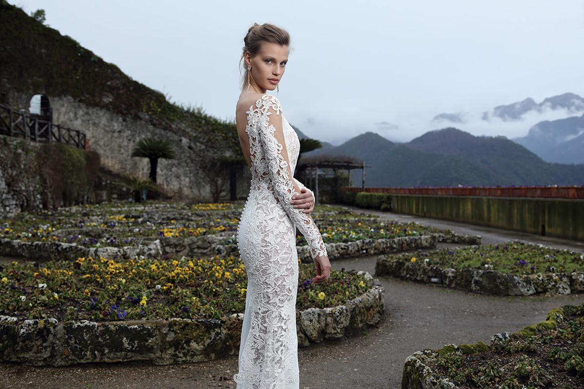 Michal medina 2016 spring bridal collection the for Michael medina wedding dress