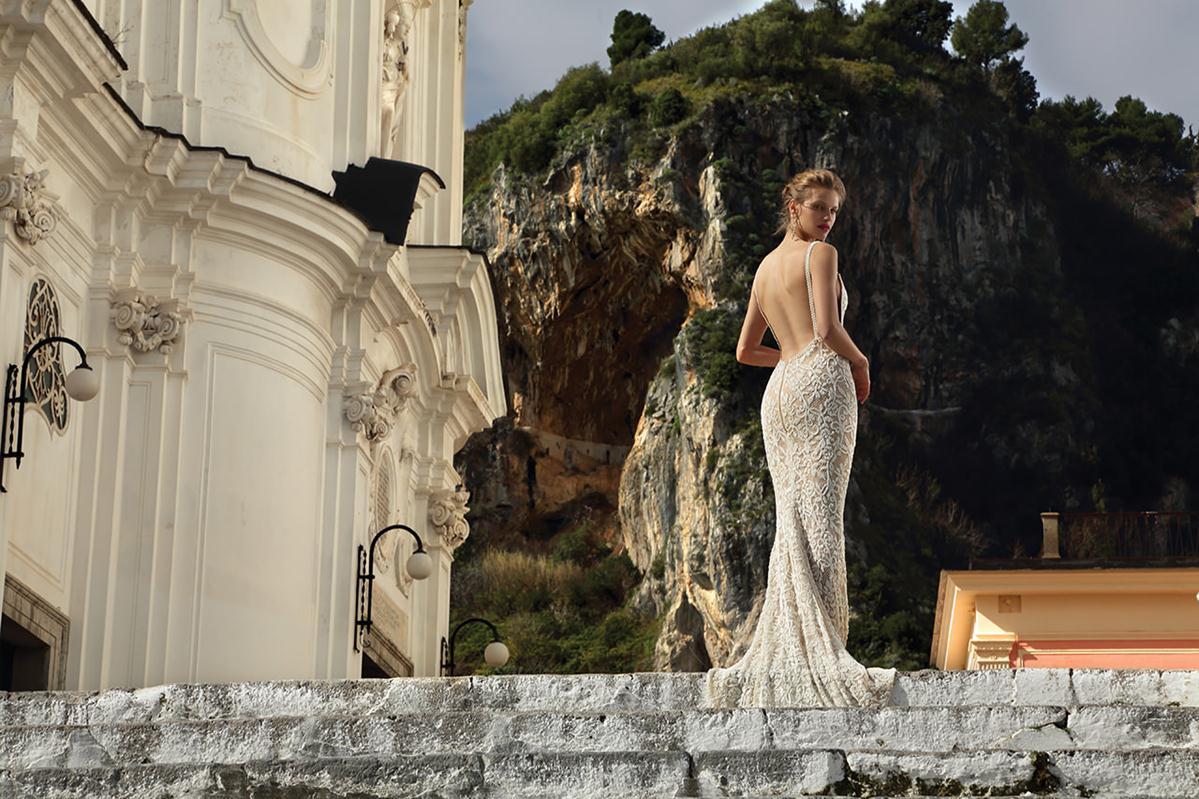 Michael medina bridal gowns spring 2016 fashionbride for Michael medina wedding dress