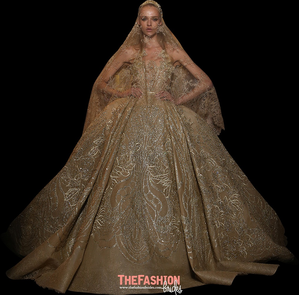 Elie Saab 2015 Fall Haute Couture Collection | The FashionBrides