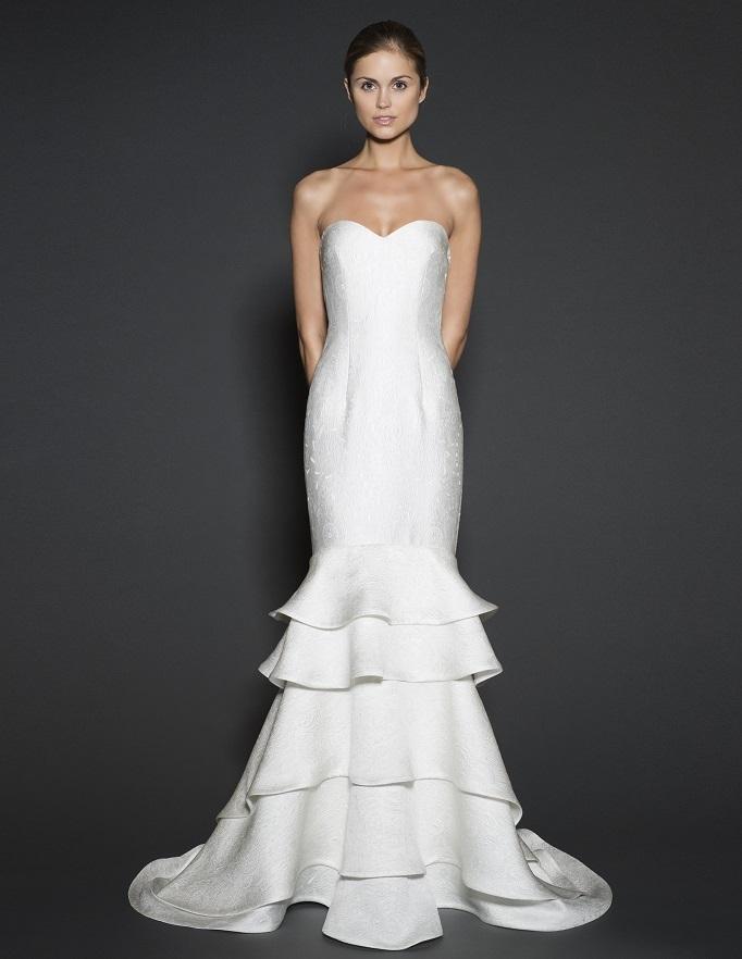 Naeem khan 2016 spring bridal collection the fashionbrides for Naeem khan wedding dress
