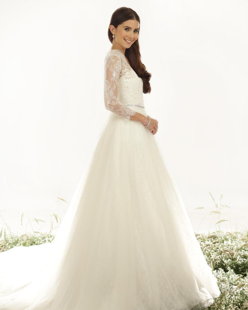 Fine Veluz Reyes Wedding Gowns Component - Colorful Wedding Dress ...