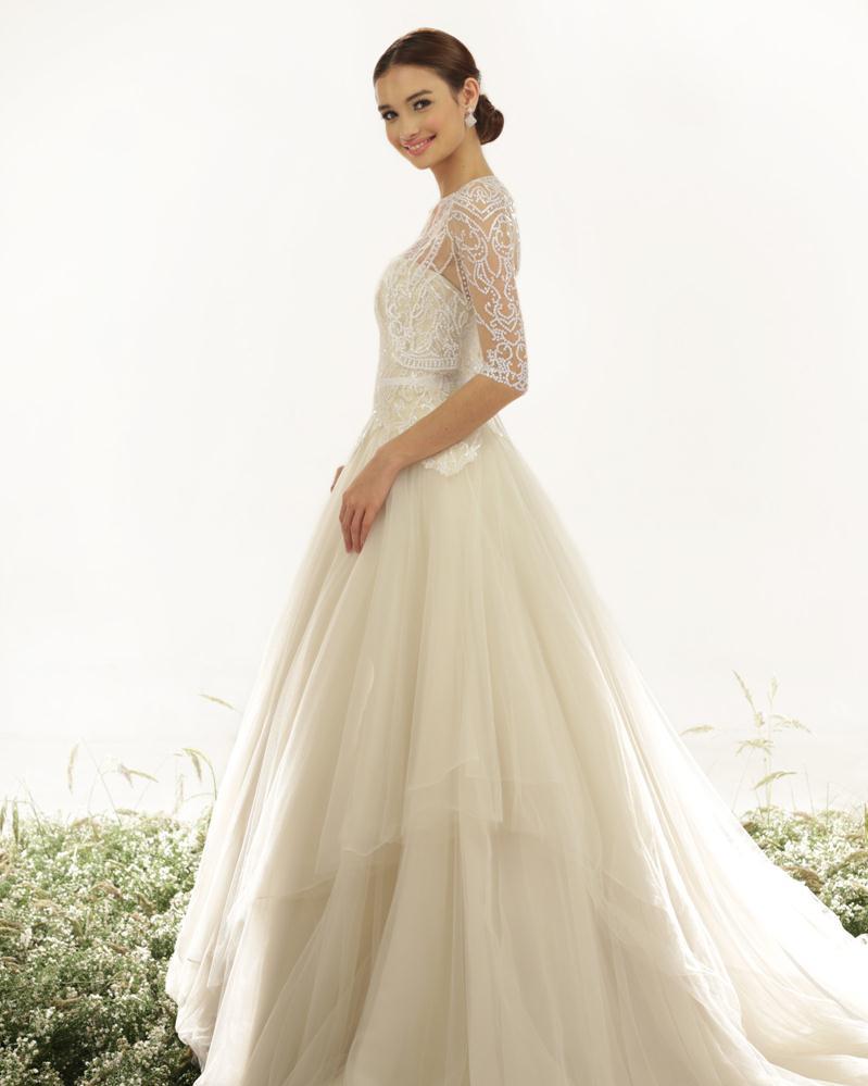 Veluz Reyes 2015 Spring Bridal Collection   The FashionBrides