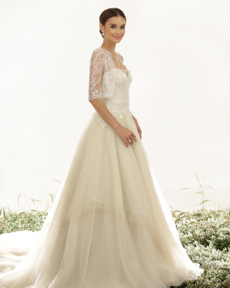 Fine Veluz Reyes Wedding Gowns Component - Colorful Wedding Dress ...