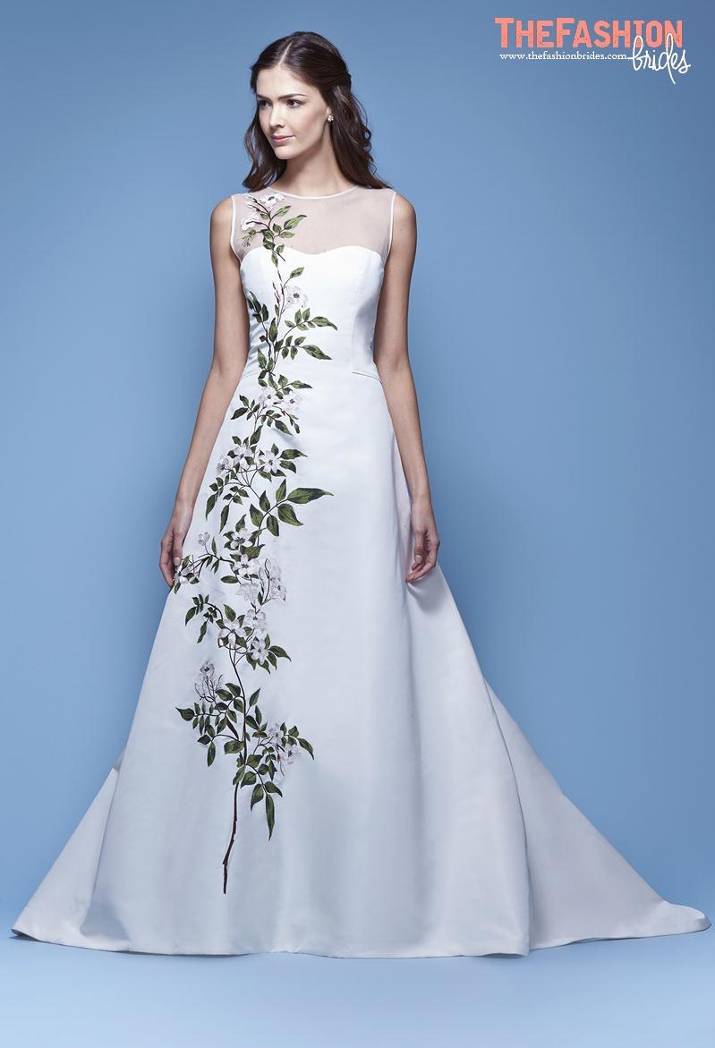Carolina Herrera 2016 Spring Bridal Collection | The FashionBrides