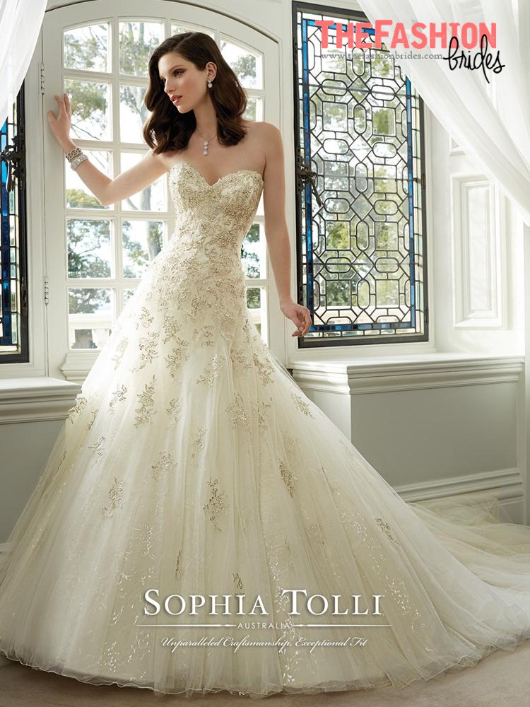 Sophia Tolli 2016 Spring Bridal Collection | The FashionBrides