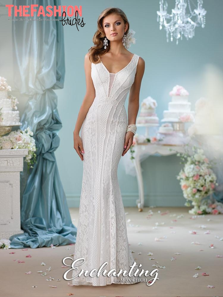 3075bea682c Enchanting by Mon Cheri 2016 Spring Bridal Collection – The ...