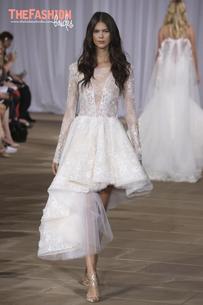 The FashionBrides Trends: Knee Length Wedding Gowns | The FashionBrides
