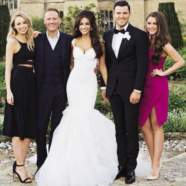 Celebrity wedding michelle keegan and mark wright the for Michelle keegan wedding dress
