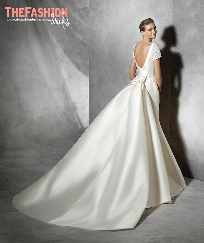 Mikado Silk Pronovias 2018 Wedding Dresses