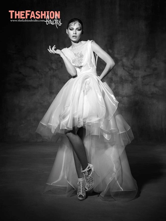 5e20e0120ff The FashionBrides Trend  High-low Wedding Dress