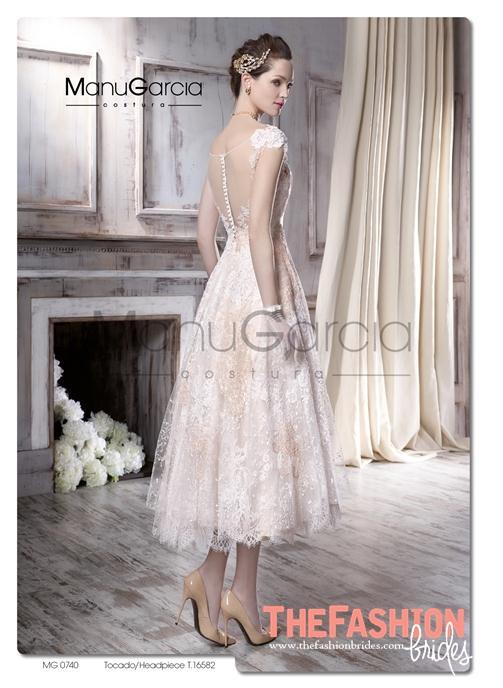 Manu Garcia 2016 Spring Bridal Collection | The FashionBrides