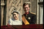 WEDDING OF HENRI OF LUXEMBOURG AND MARIA TERESA