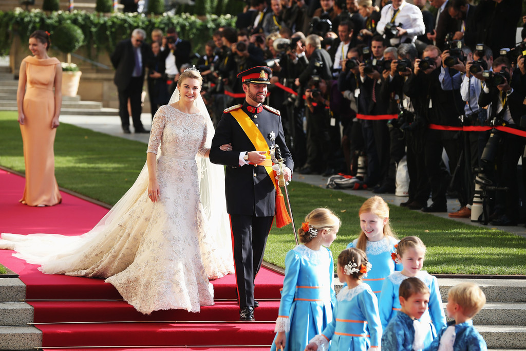 A Classic Belgian Wedding: Royal Bride: Prince Guillaume Of Luxembourg And Stephanie