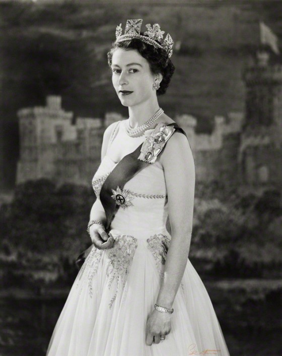 NPG P1472; Queen Elizabeth II by Cecil Beaton