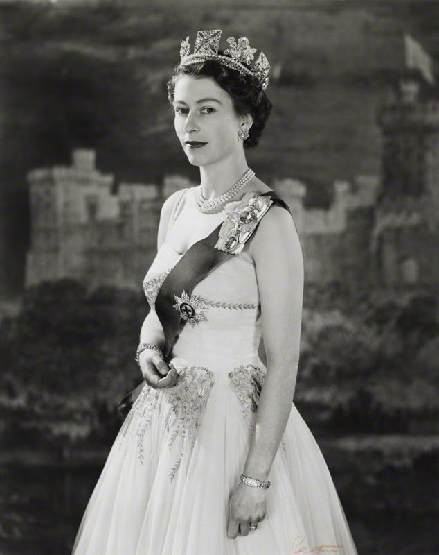 NPG P1472; Queen Elizabeth II by Cecil Beaton