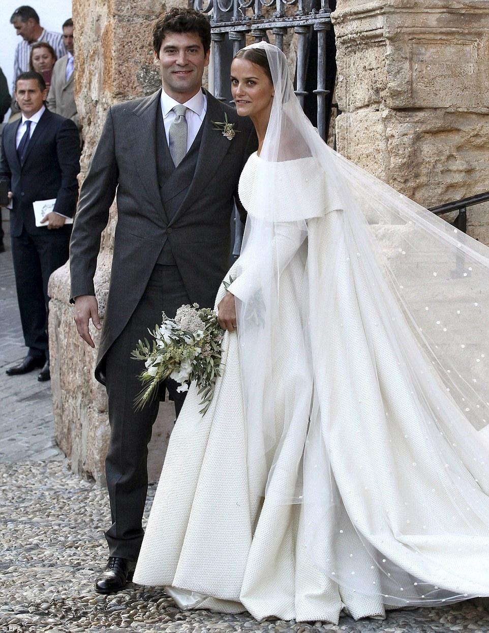 Celebrity Wedding Lady Charlotte Wellesley And Alejandro