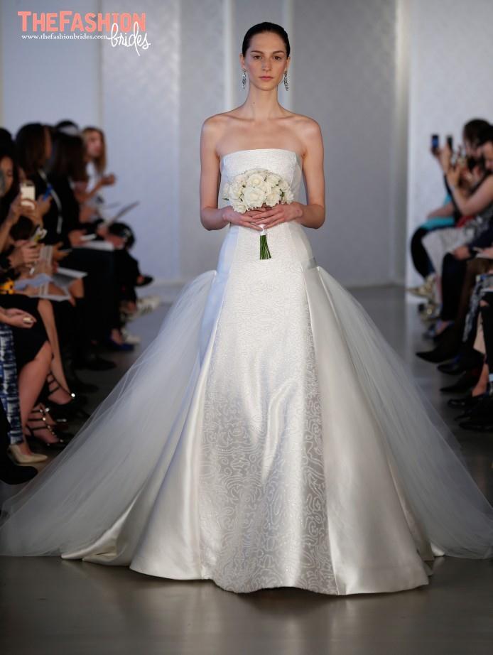 Oscar De La Renta Spring 2017 Wedding Gown 06 The Fashionbrides