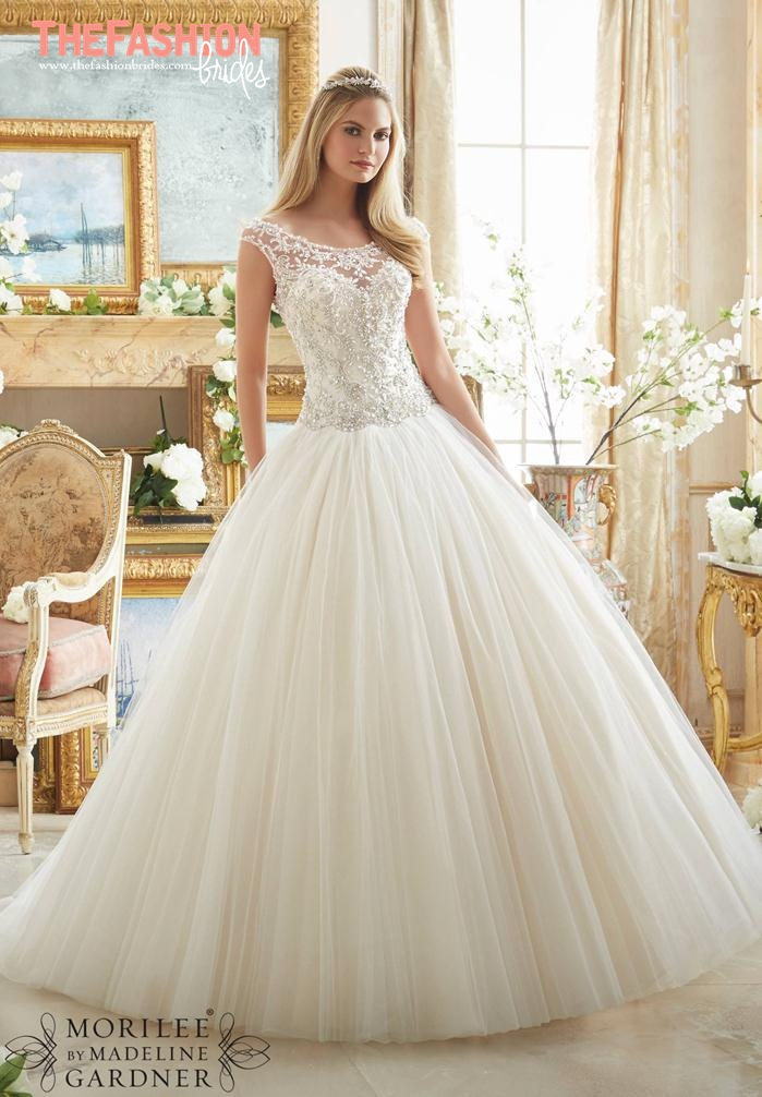 Wedding Dresses 2017 Mori Lee : Mori lee spring bridal collection the fashionbrides