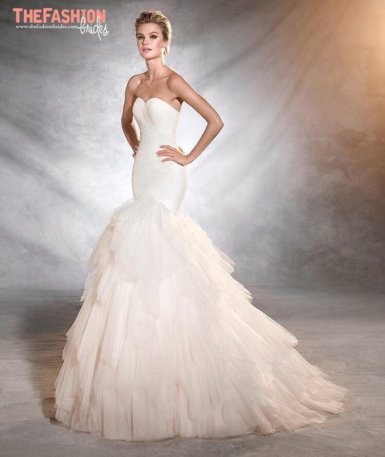 Ruffled Wedding Dresses | The FashionBrides