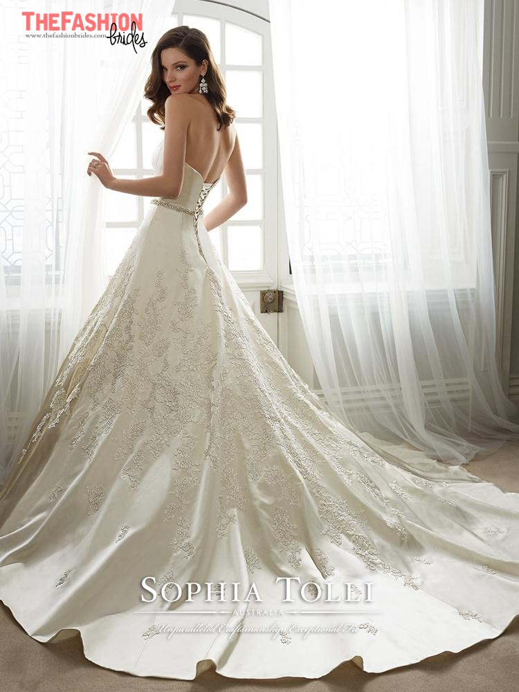 Sophia tolli 2017 spring bridal collection the fashionbrides for Custom wedding dress maker online