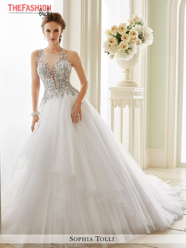 e589750b620 Sophia Tolli 2017 Spring Bridal Collection – The FashionBrides