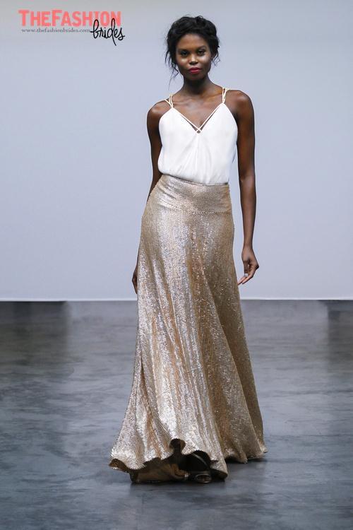 Carol hannah 2017 spring bridal collection the fashionbrides for Carol hannah wedding dresses