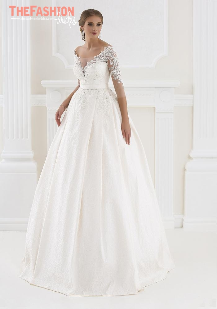 White lady 2016 spring bridal collection the fashionbrides for Romanian wedding dress designer