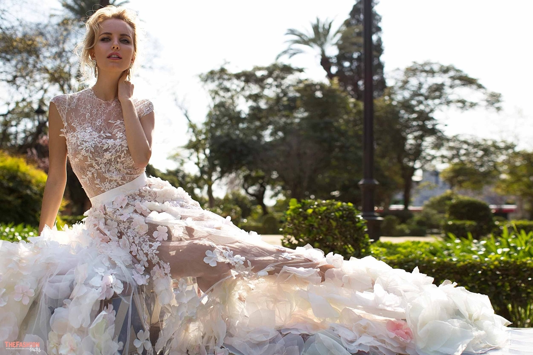 Oksana Mukha 2017 Spring Bridal Collection | The FashionBrides