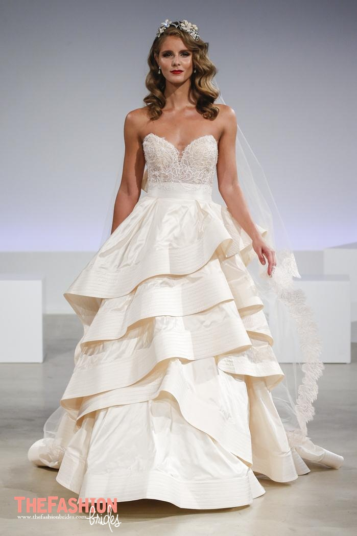 Anne barge 2017 fall bridal runway collection the Wedding dress designers under 2000