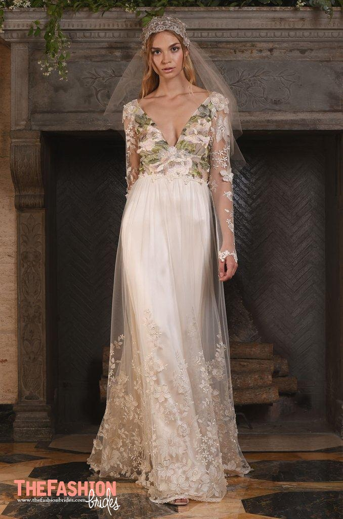Claire pettibone 2017 fall bridal collection the for Where to buy claire pettibone wedding dress