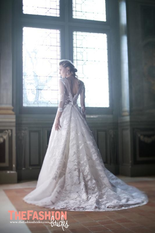 Cymbeline 2017 spring bridal collection the fashionbrides for What does couture mean in french