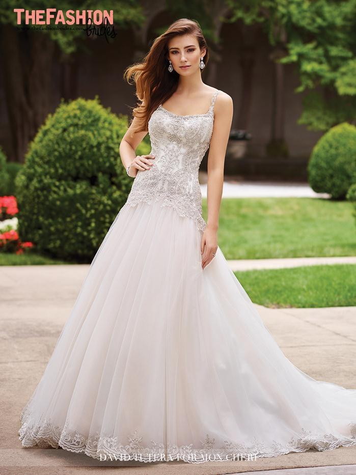 David tutera 2017 spring bridal collection the fashionbrides for David bridal wedding dresses 2017