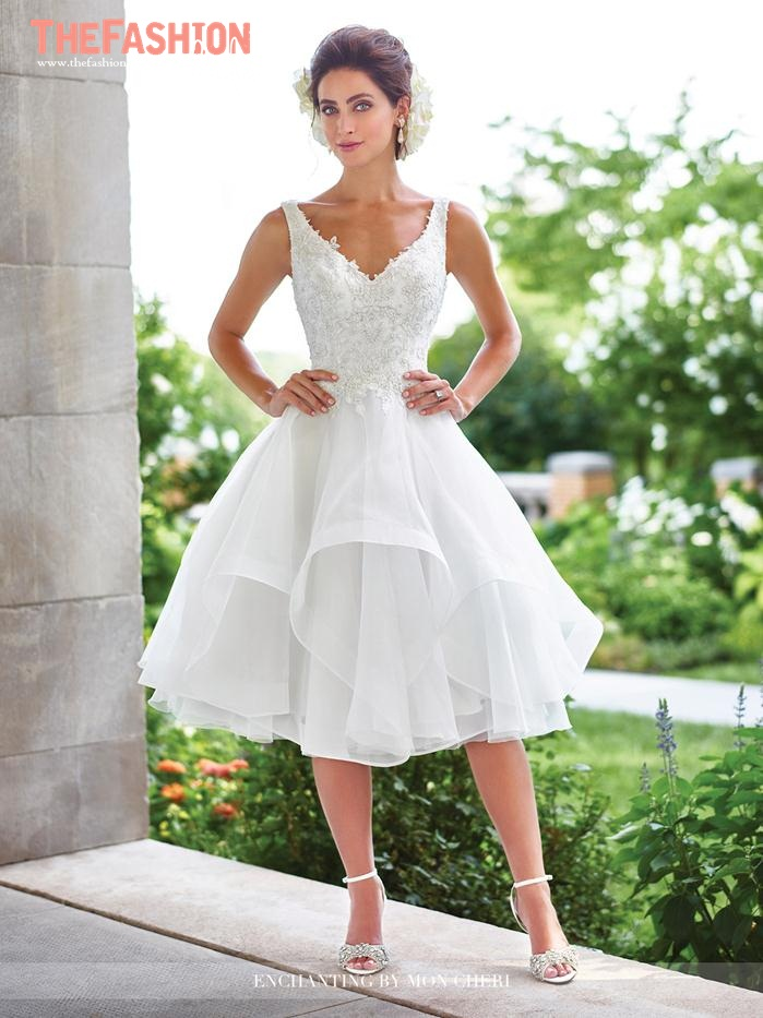 Wedding gown guide short bridal dress the fashionbrides for Wedding dresses short brides