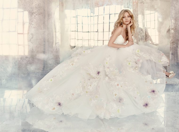 hayley-paige-bridal-tulle-ball-marzipan-floral-draped-taffeta-v-spaghetti-appliques-cascading-tiered-6601_x4
