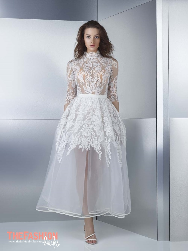 Wedding Gown Guide: Transparent Skirt | The FashionBrides