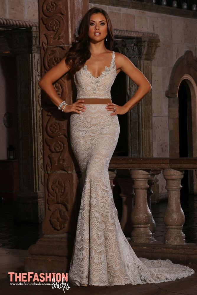 Wedding gown guide crop top the fashionbrides for Miami wedding dresses stores