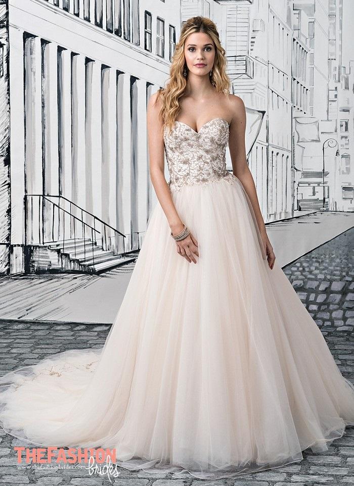 Justin Alexander 2017 Spring Bridal Collection | The FashionBrides
