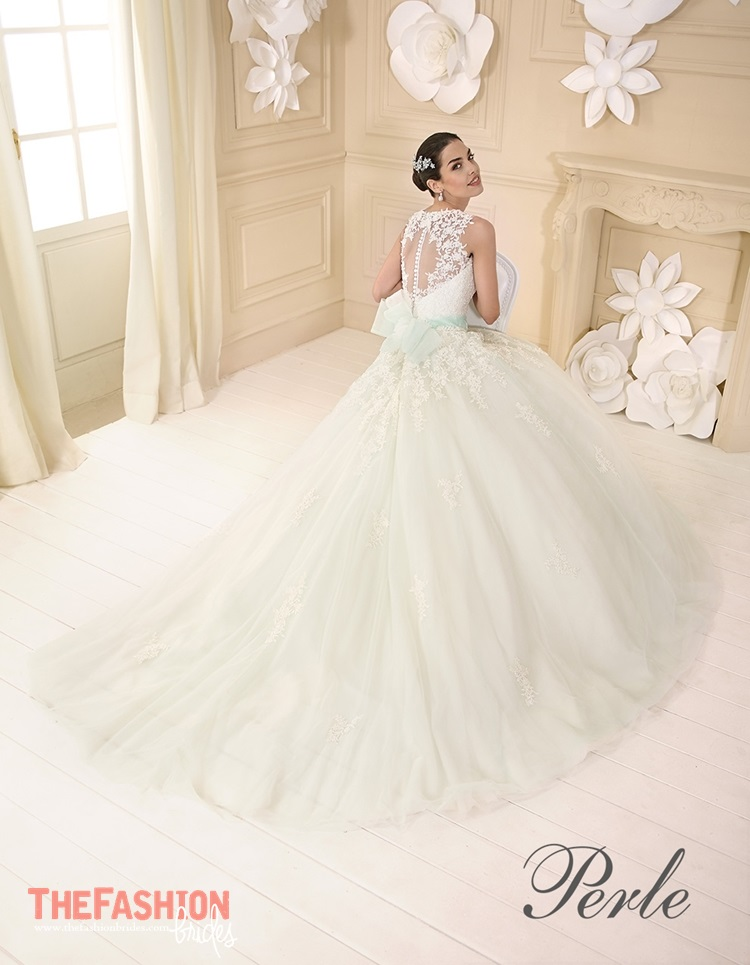Colored Bridal Gowns | The FashionBrides