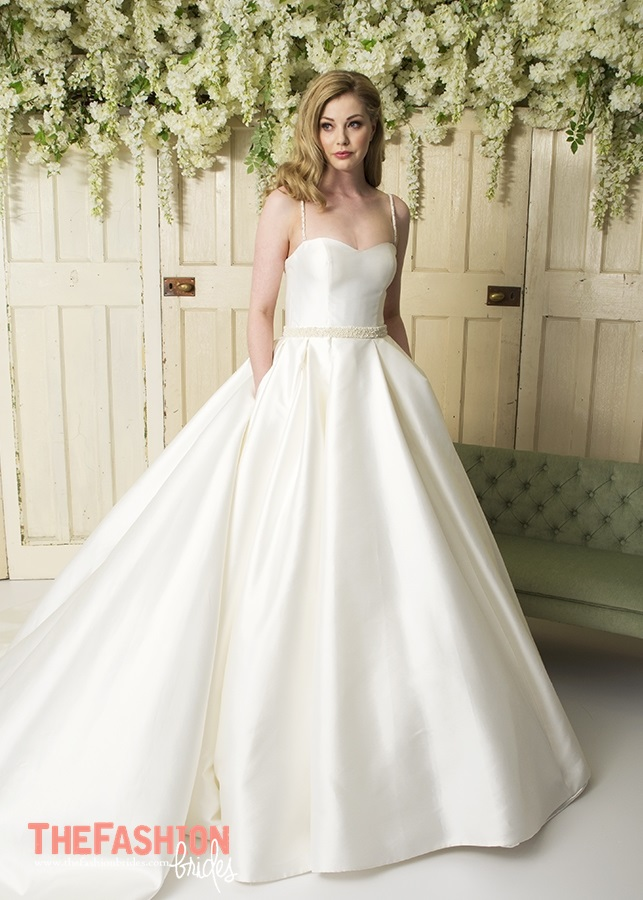 Wedding gown guide full with front pleats the fashionbrides for Wedding dress in a box