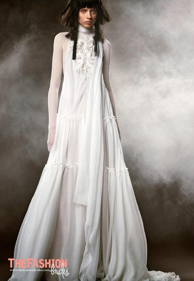 Vera wang 2018 spring bridal collection the fashionbrides for Wedding dresses by vera wang 2017