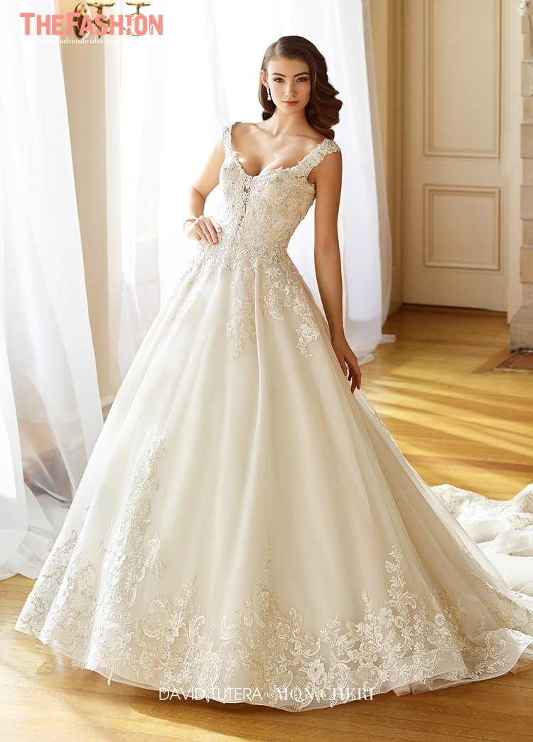 2018 spring collections the fashionbrides for David bridal wedding dresses 2017