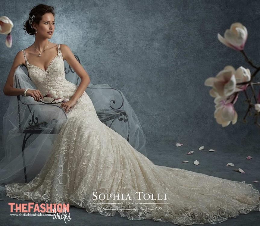 Sophia tolli 2017 fall bridal collection the fashionbrides for Wedding dresses burlington nc
