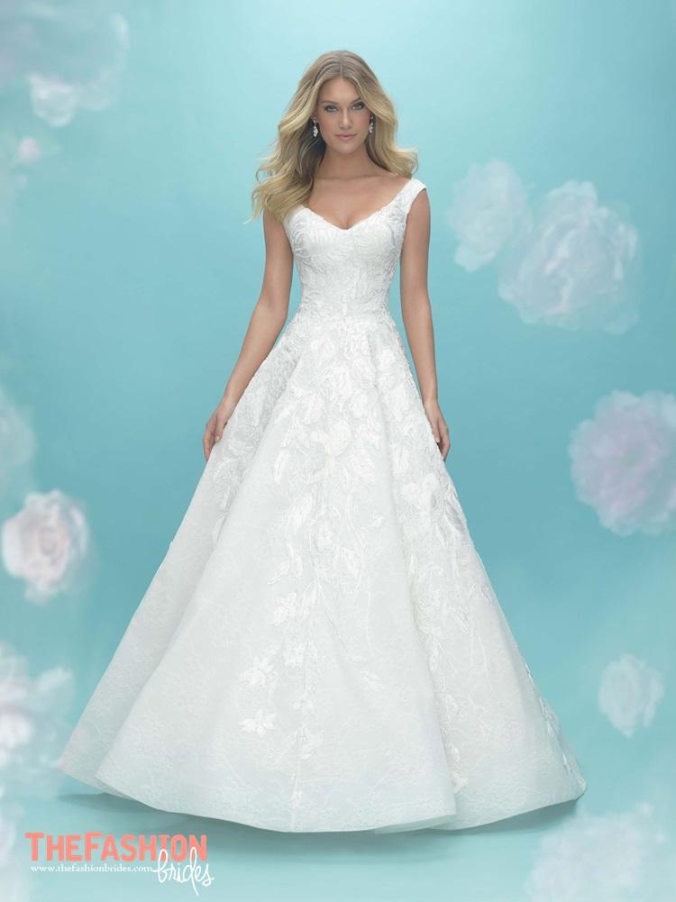 Allure 2018 spring bridal collection the fashionbrides for Allure short wedding dress