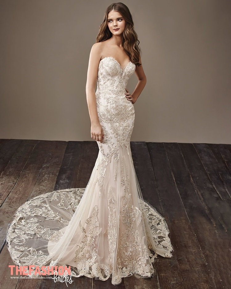 Badgley mischka 2018 spring bridal collection the for Wedding dress badgley mischka